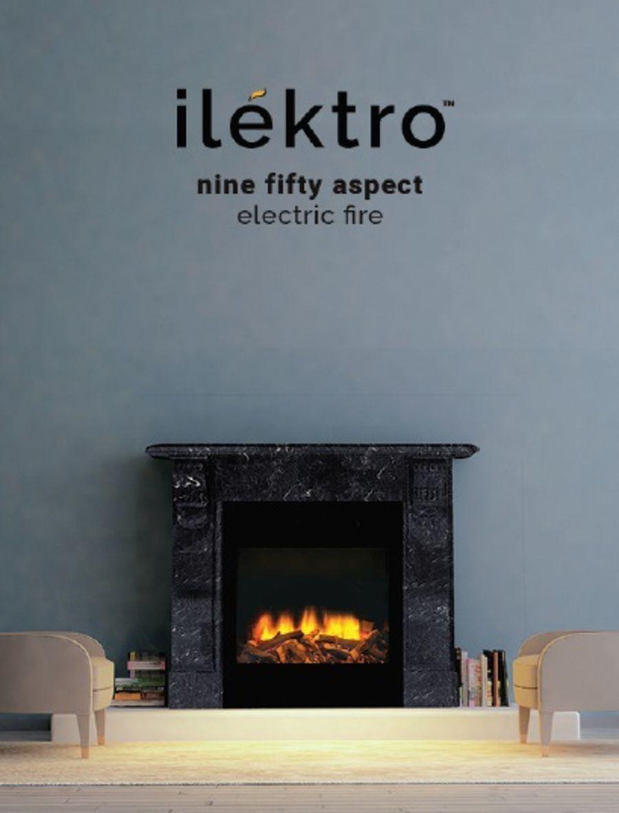ilektro Nine Fifty Aspect Electric Fire
