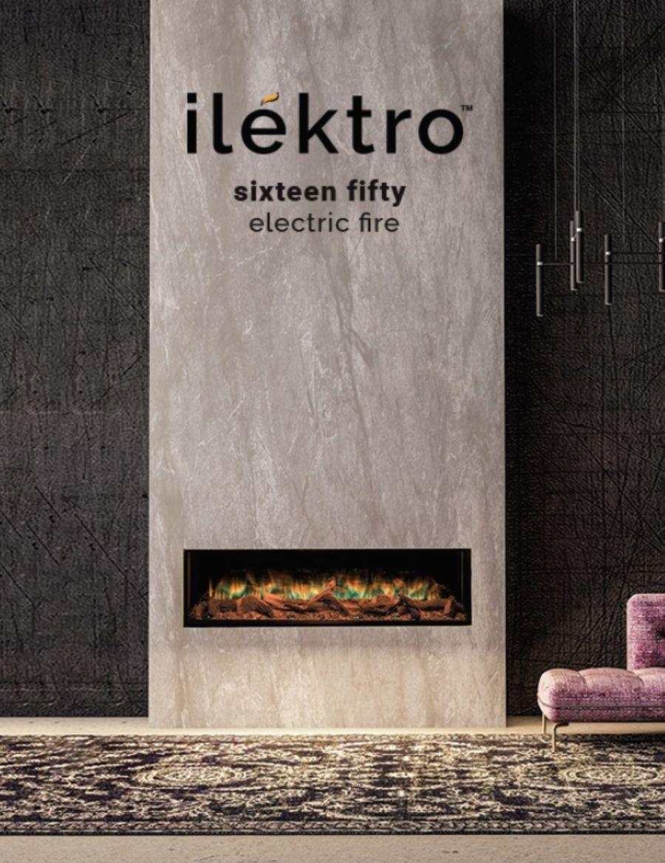ilektro Sixteen Fifty Electric Fire