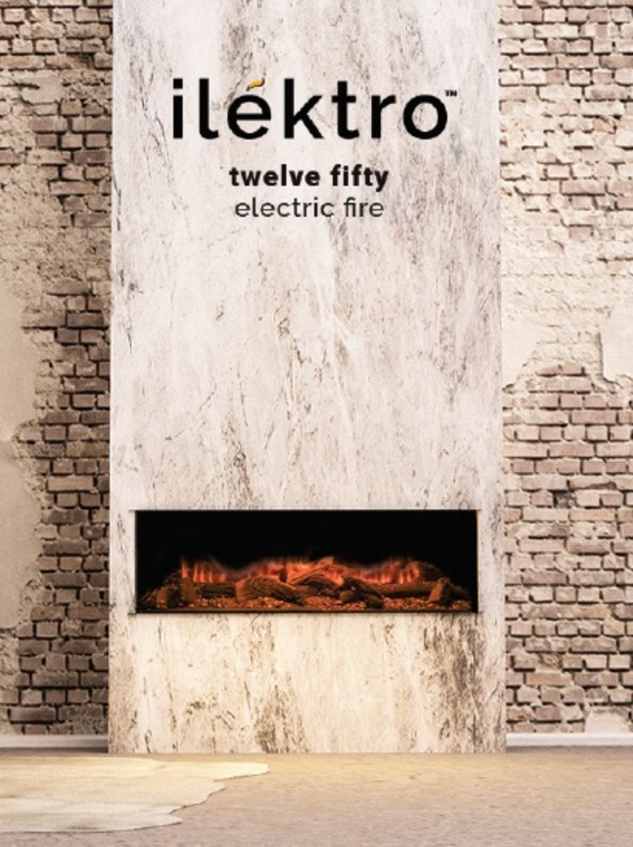 ilektro Twelve Fifty Electric Fire