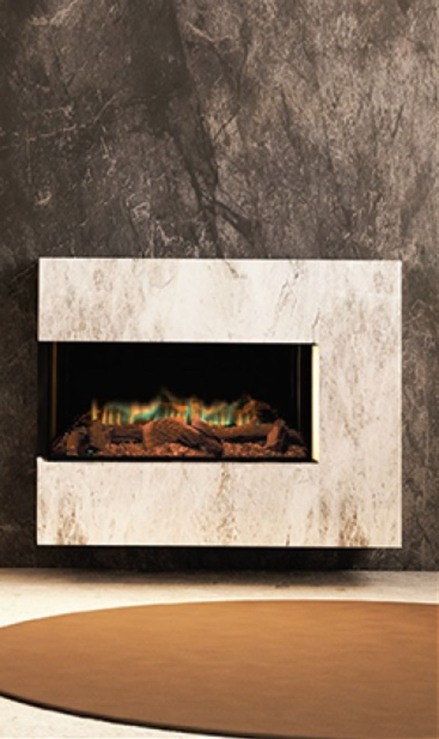 ilektro Nine Fifty Landscape Electric Fire