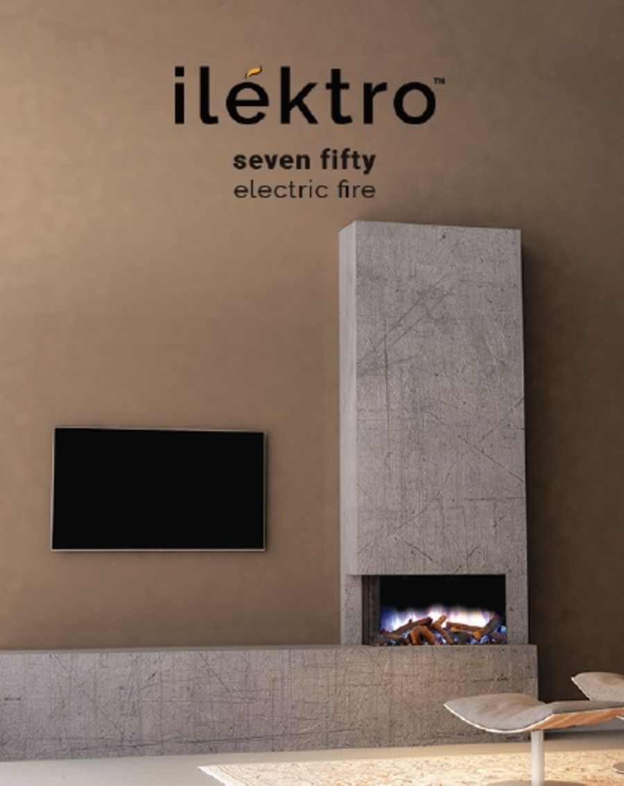 ilektro Seven Fifty Landscape Electric Fire
