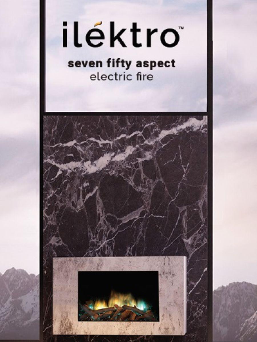 ilektro Seven Fifty Aspect Electric Fire