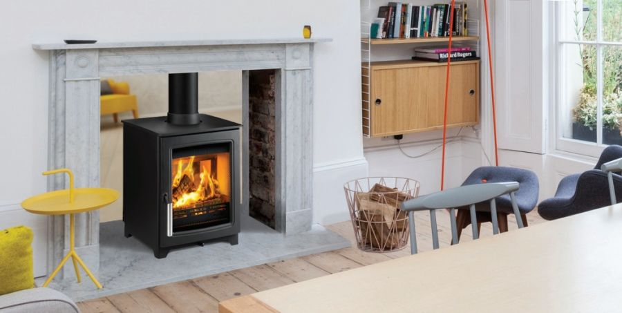 Hunter Parkray Aspect 4 Double Sided Single Depth Woodburning Stove
