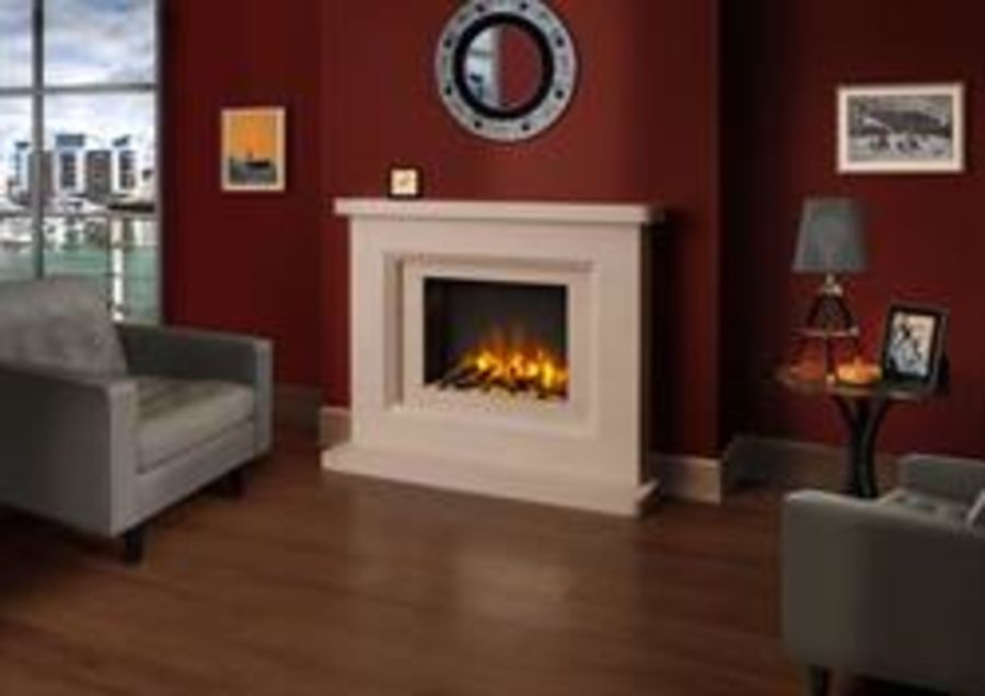 Chilmark Fireplace Suite including Solstice Electric Fire