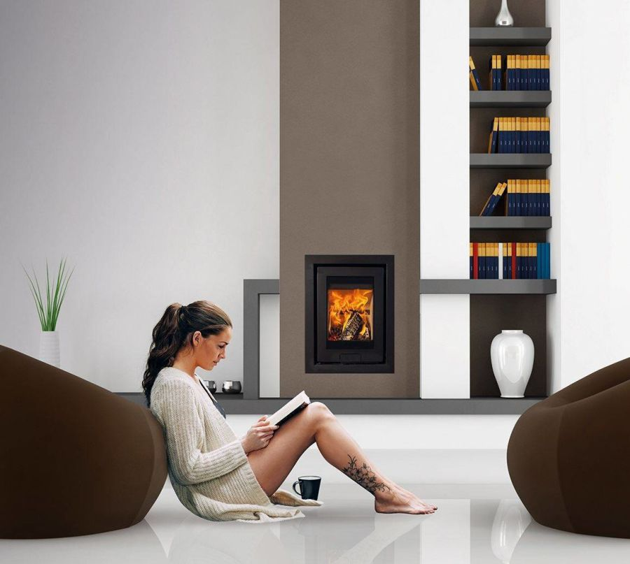 Di Lusso Eco R4 4.9kW Inset Wood Stove