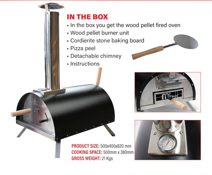 Pizza Oven Portable and Lightweight