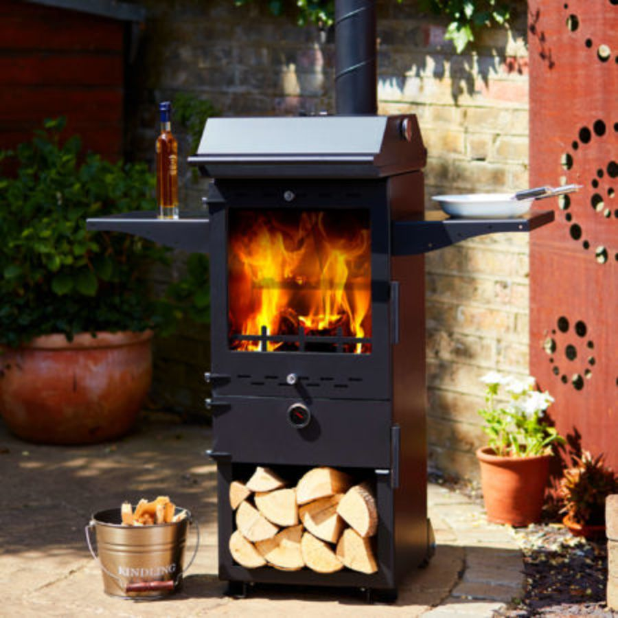 CALBQ  'All in One' BBQ, Oven and Outdoor Stove that is fully British designed and manufactured