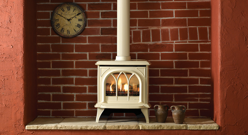 Gazco Huntingdon 30 3.5kW Gas Stove