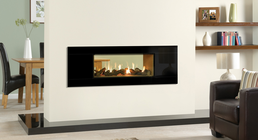 Gazco Riva Studio 2 Duplex 7.9kW Double Sided Gas Fire