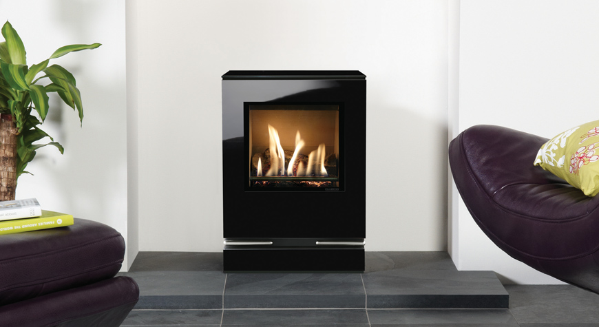 Gazco Gas Riva Vision Small 2.40 - 2.56kw Gas Stoves