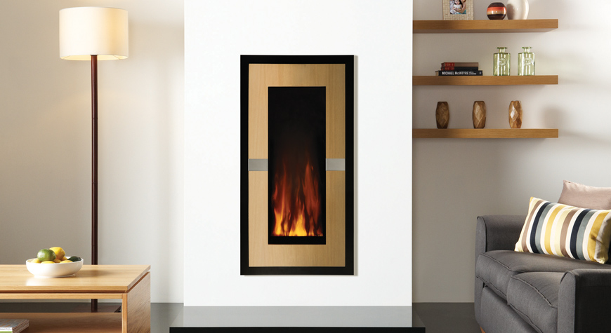 Studio 22 Evolve Electric Wall Hanging Fire