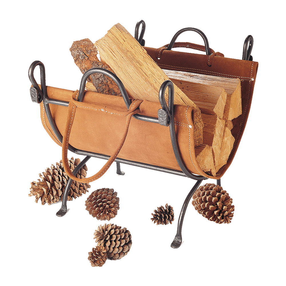 Vintage Iron Folding Log Carrier