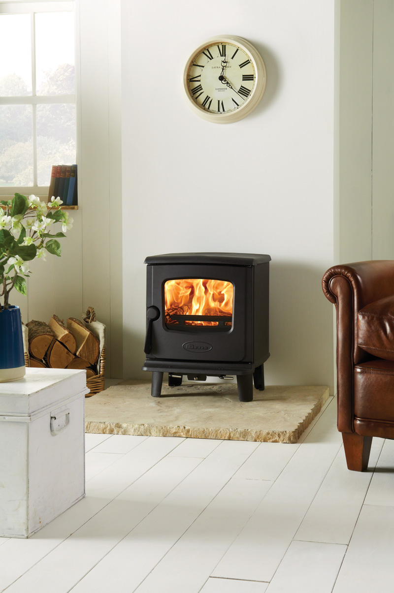 Dovre 225 4.6kW Wood Burning or Multi-fuel Stove Versions