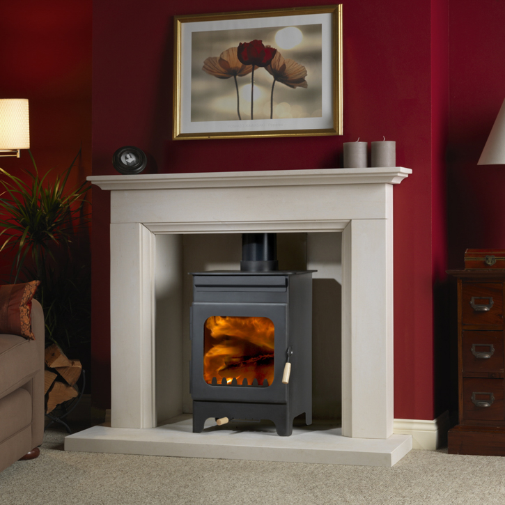 Burley Hollywell Fireball 5kW Woodburning Stove