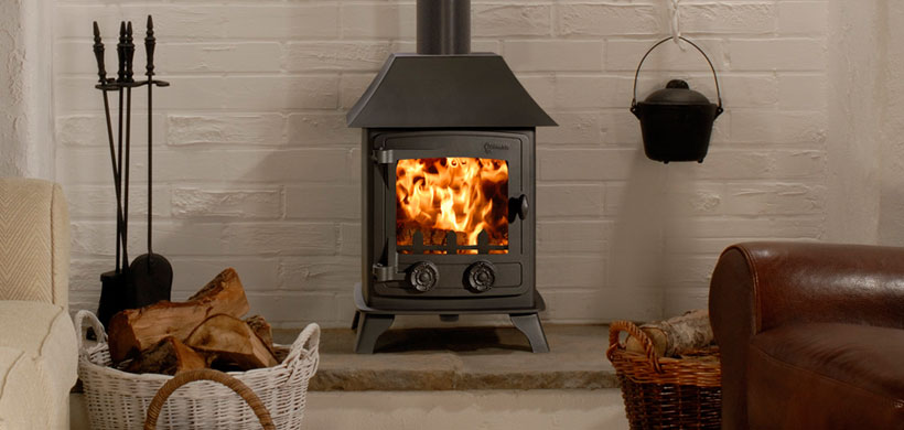 Yeoman Exmoor 4.9kW Woodburning or Multifuel Stove