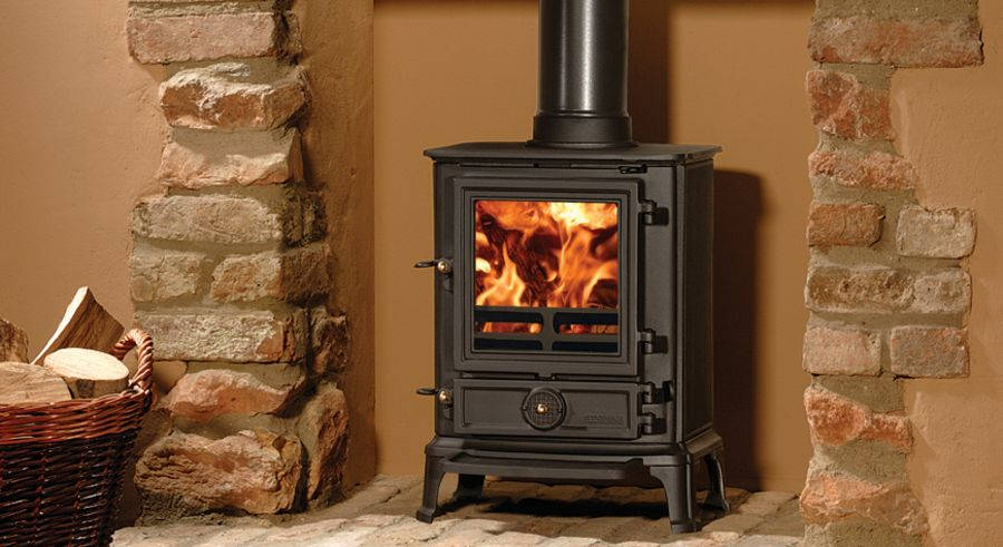Stovax Brunel 1A 4kW Woodburning & Multifuel Stove