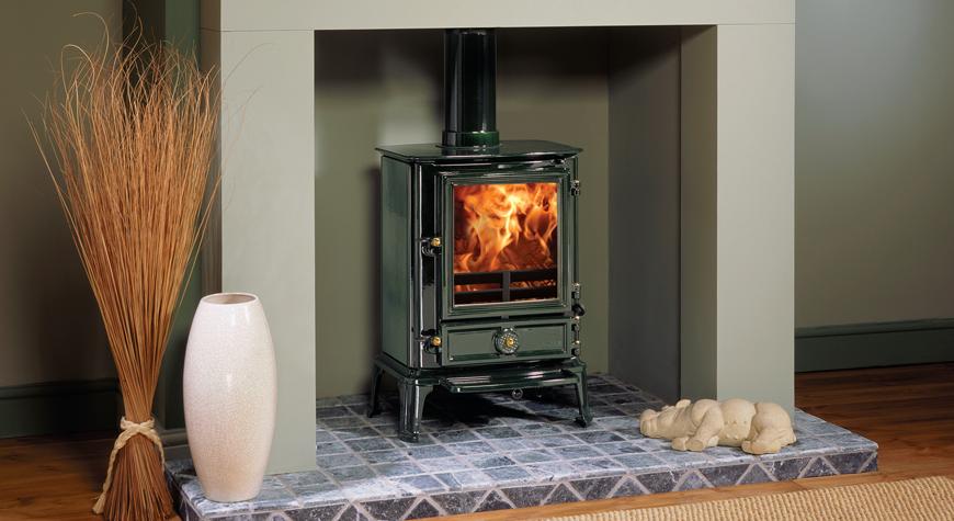 Stovax Brunel 2CB 6kW Stove Woodburning & Multifuel