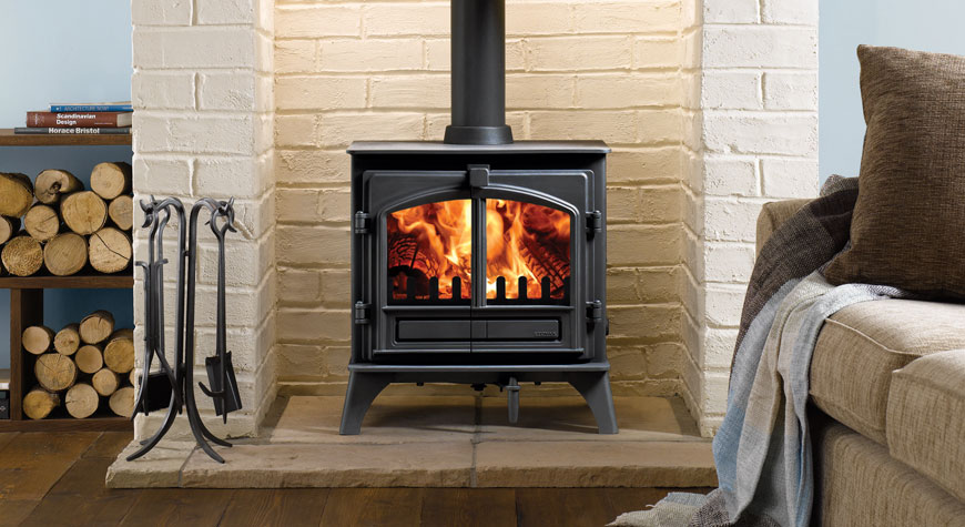 Stovax Riva Plus Medium 8kW Stove