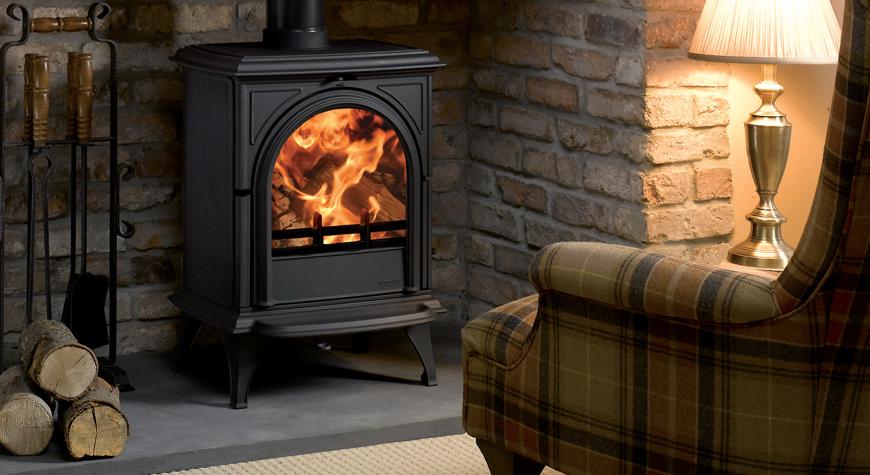 Stovax Huntingdon 28 6kW Wood Burning and Multi-fuel Stove
