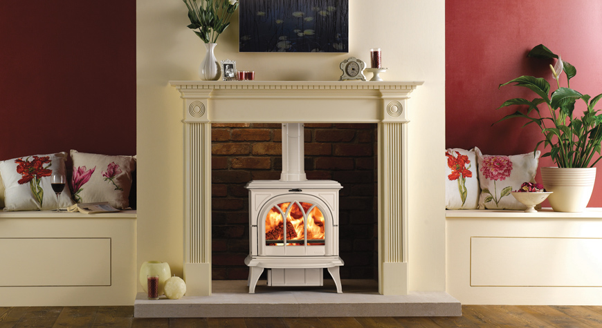 Stovax Huntingdon 30 6kW wood burning and multi-fuel Stove