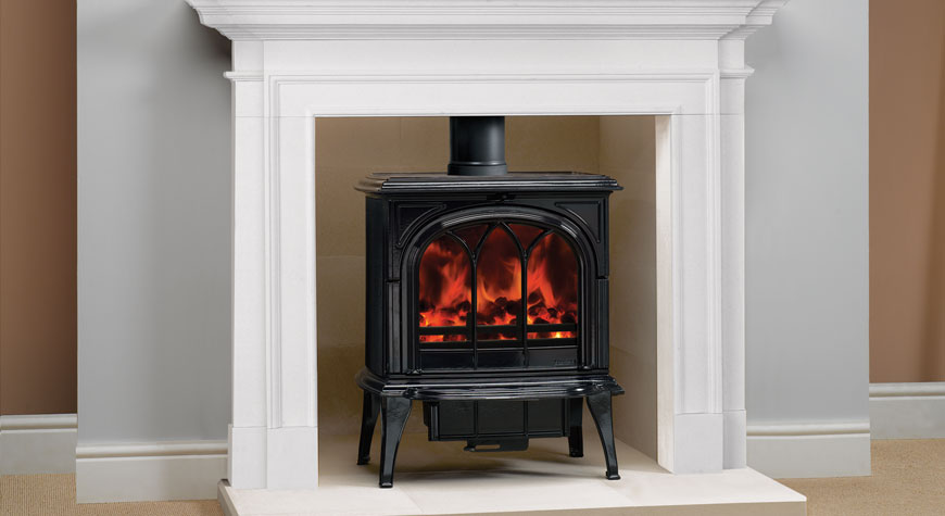 Stovax Huntingdon 40 9kW Wood Burning and Multi-fuel Stove
