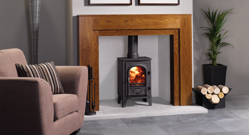Stovax Stockton 4kW Stove Wood Burning & Multi-fuel Stove