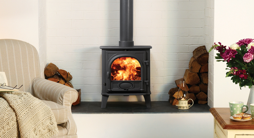 Stovax Stockton 5kw Stove Wood burning or Multi-fuel Versions