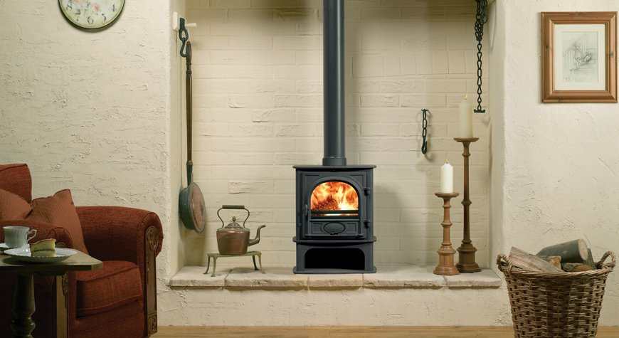 Stovax Stockton 5kw Midline Stove Wood Burning and Multi-fuel versions