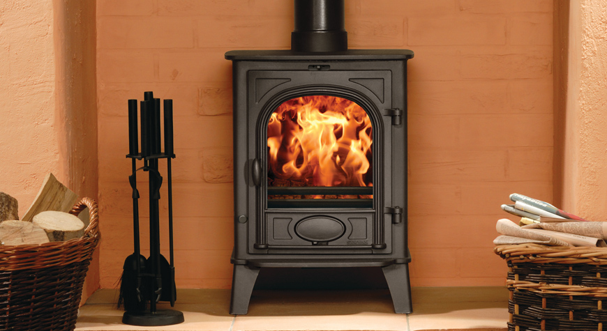 Stovax Stockton 6kw Stove Wood Burning and Multi-fuel sions