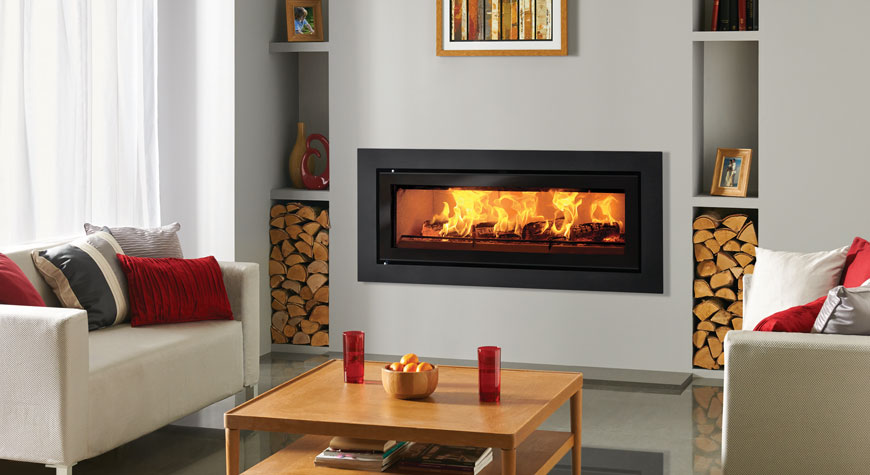 Riva Studio Steel XS Inset Woodburning Fire