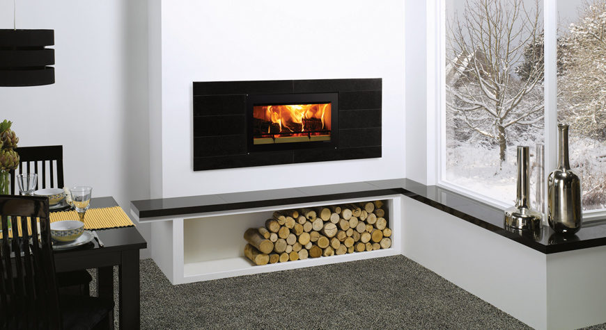Riva Studio Firenza Inset Woodburning Fire