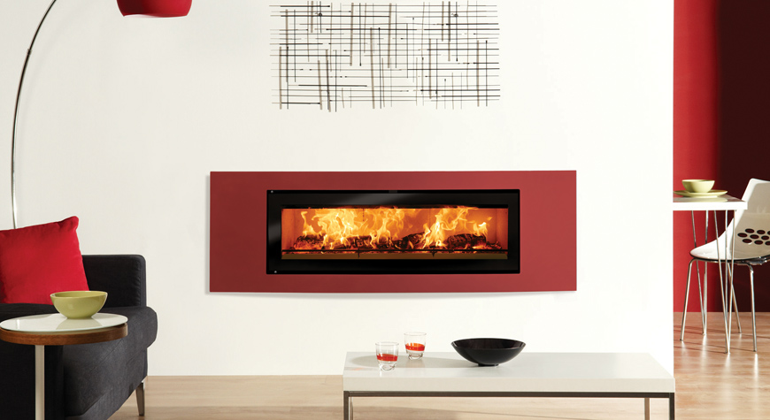 Riva Studio Verve Inset Woodburning Fire