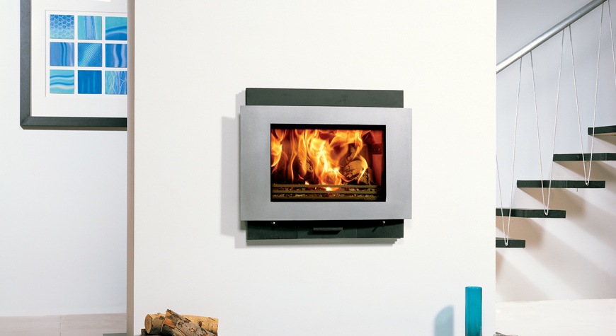 Riva 66 Avanti Woodburning & Multifuel Inset Fire