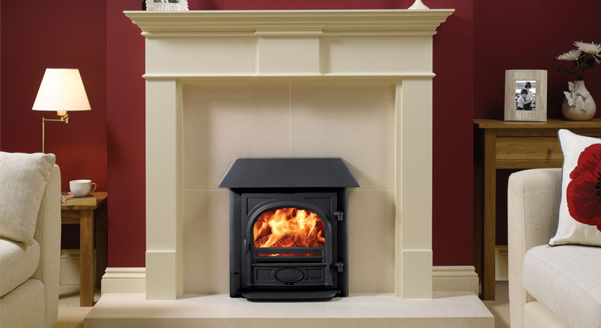 Stovax Stockton Milner Wood Burning and Multi-fuel  Inset Stove