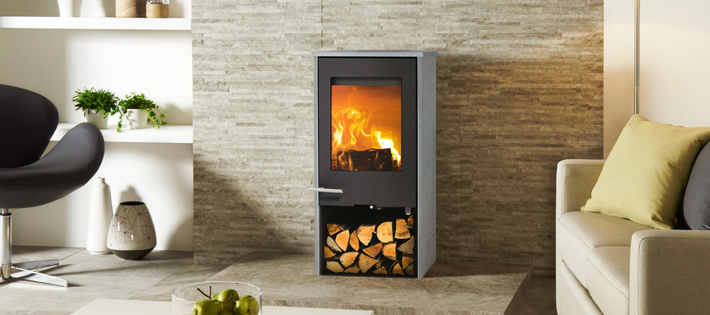 Lotus Mondo 1 5kW Woodburning Stove