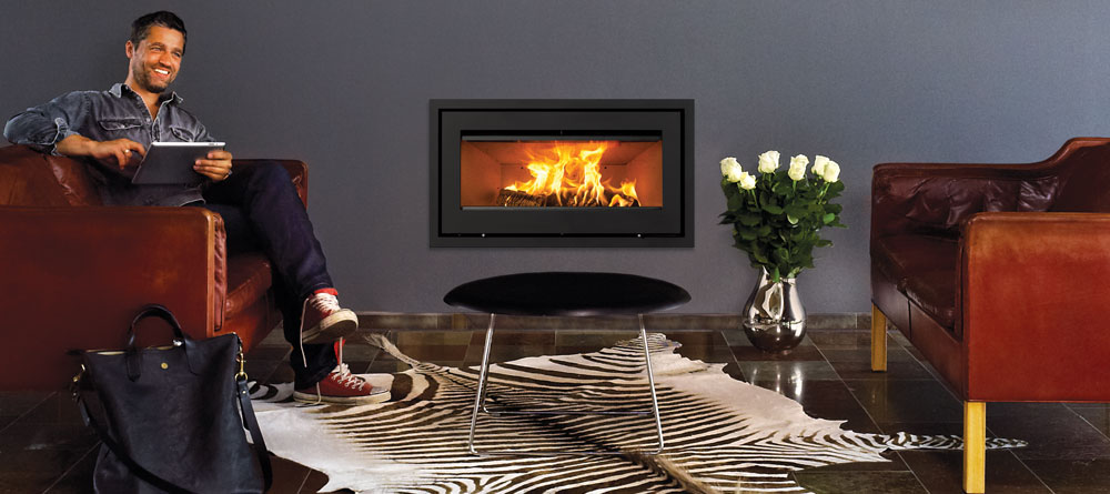 Lotus H470W 7kW Inset Woodburning Fire
