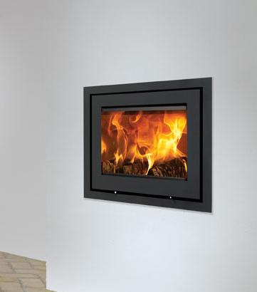 Lotus H570 6kW Inset Woodburning Fire