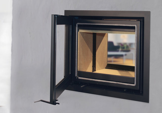 Lotus H570T 6kW Inset Double Sided Woodburning Fire