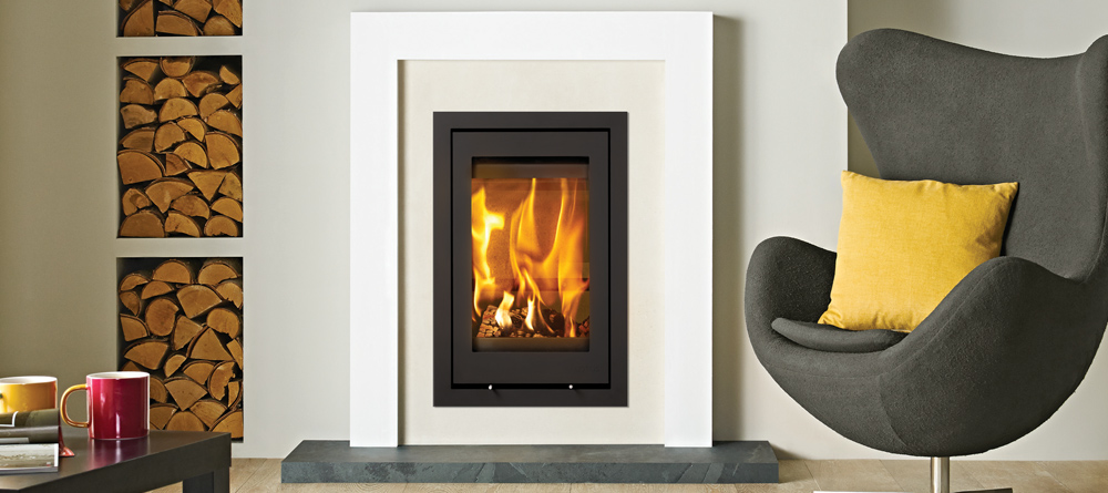 Lotus H700 5kW Inset Woodburning Fire