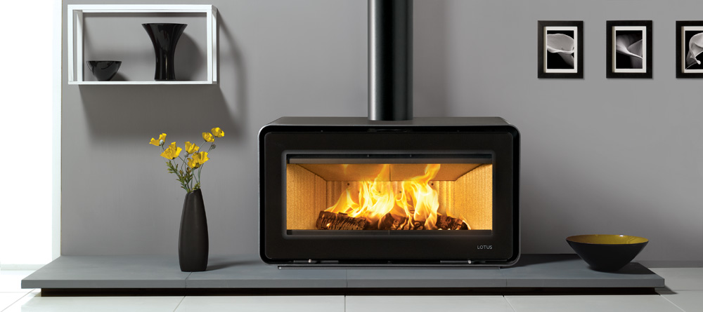 Lotus Living 7kW Woodburning Freestanding Fire