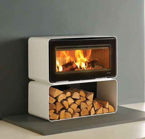 Lotus Living Cube 7kW Woodburning Freestanding Fire