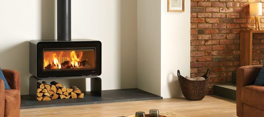 Lotus Living Base 7kW Woodburning Fire