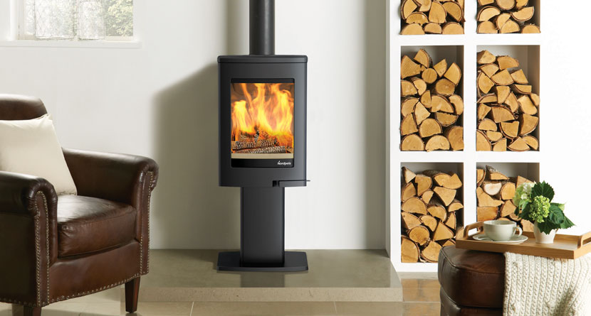 Nordpeis Uno 1 4kW Woodburning Stove Ecodesign Ready 2022