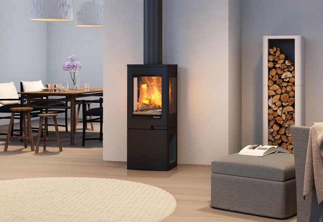 Nordpeis Uno 2 4kW Woodburning Stove Ecodesign Ready 2022