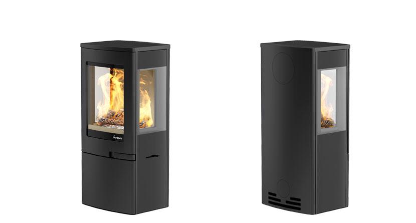 Nordpeis Uno 4 4kW Woodburning Stove Ecodesign Ready 2022