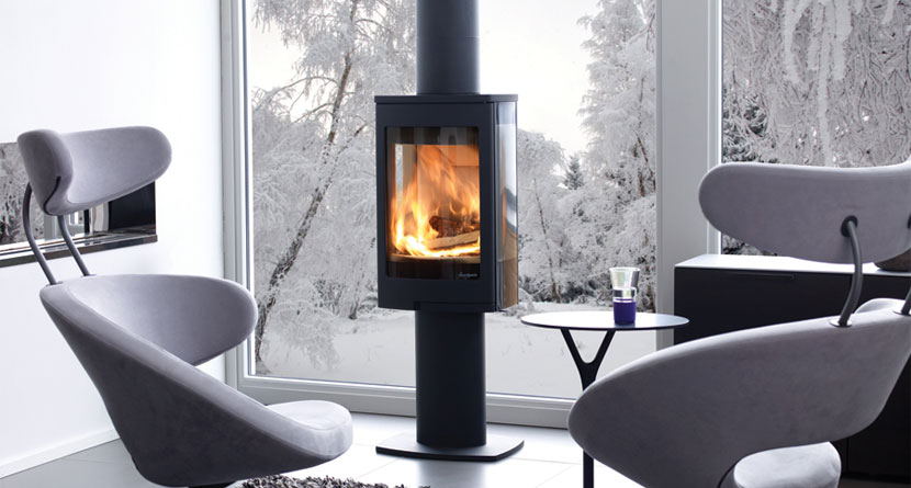 Nordpeis Duo 1 5kW Woodburning Stove Ecodesign Ready 2022