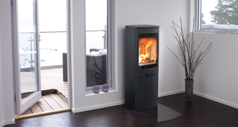 Nordpeis Duo 5 5kW Woodburning Stove Ecodesign Ready 2022