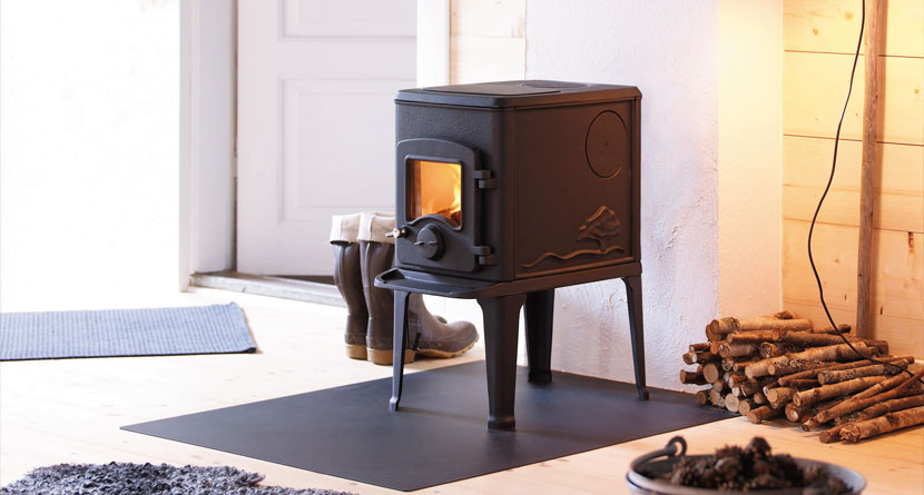 Nordpeis Orion 6.8kW Woodburning Stove Ecodesign Ready 2022