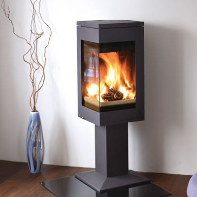 Nordpeis Quadro 1 6.2kW Ecodesign Ready 2022 Woodburning Stove