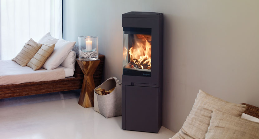 Nordpeis Quadro 2 6.2kW Ecodesign Ready 2022 Woodburning Stove